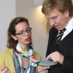 Zugang gestalten 2015 im Altonaer Museum - Dr. Paul Klimpel, Konferenzleiter, und Pamela Kaethner, Koordinatorin der Konferenz